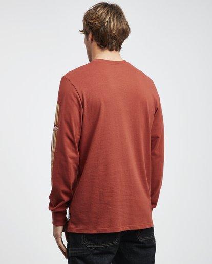 7 97ripes - Camiseta de Manga Larga 97 Stripes para Hombre  Q1LS15BIF9 Billabong