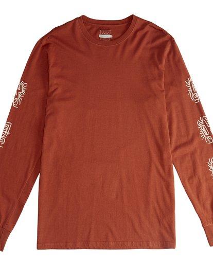 2 Cactus - Camiseta de Manga Larga para Hombre  Q1LS18BIF9 Billabong