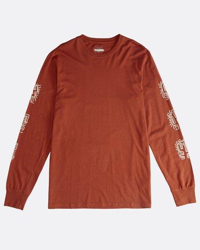0 Cactus - Camiseta de Manga Larga para Hombre  Q1LS18BIF9 Billabong