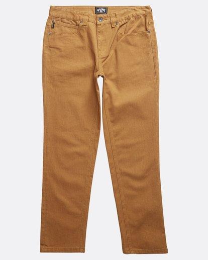 0 Fifty - Jeans Hose für Männer Braun Q1PN01BIF9 Billabong