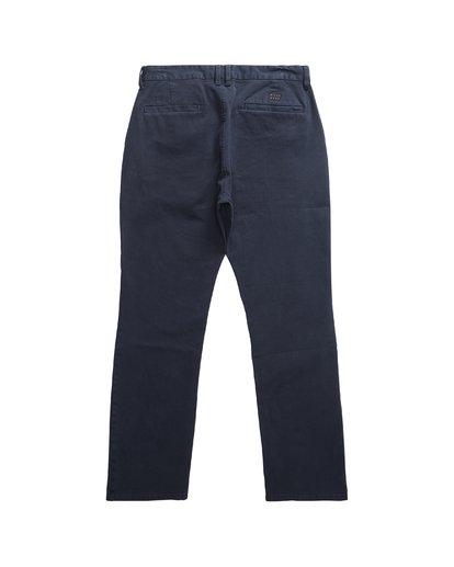 3 New Order - Chino für Männer Blau Q1PT11BIF9 Billabong