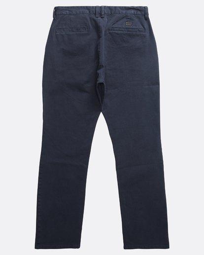 1 New Order - Chino für Männer Blau Q1PT11BIF9 Billabong