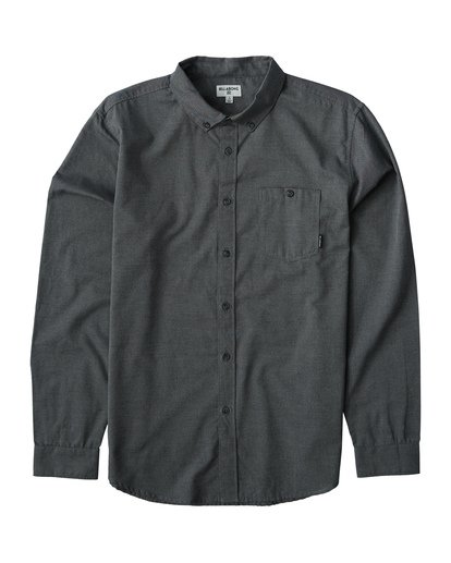 0 All Day - Camisa de Manga Larga para Hombre Gris Q1SH01BIF9 Billabong