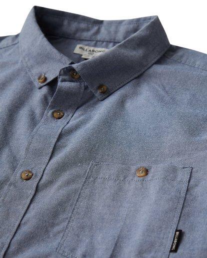 1 All Day - Langärmeliges Hemd für Männer Blau Q1SH01BIF9 Billabong