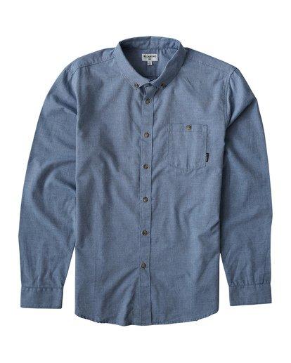 0 All Day - Langärmeliges Hemd für Männer Blau Q1SH01BIF9 Billabong