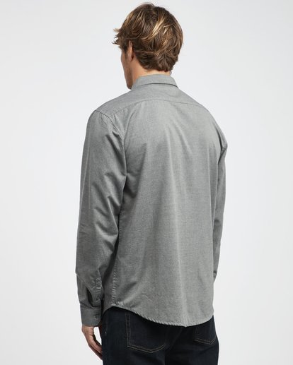 6 All Day - Camisa de Manga Larga para Hombre Gris Q1SH01BIF9 Billabong