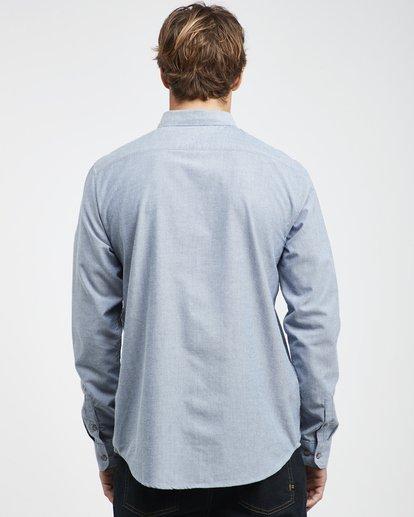 4 All Day - Langärmeliges Hemd für Männer Blau Q1SH01BIF9 Billabong