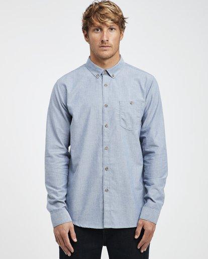 3 All Day - Langärmeliges Hemd für Männer Blau Q1SH01BIF9 Billabong