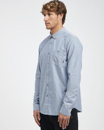 5 All Day - Langärmeliges Hemd für Männer Blau Q1SH01BIF9 Billabong