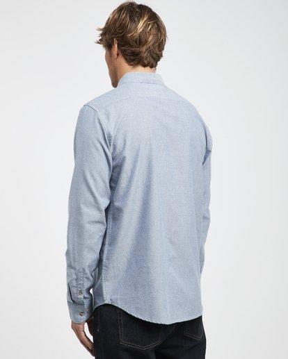 6 All Day - Langärmeliges Hemd für Männer Blau Q1SH01BIF9 Billabong