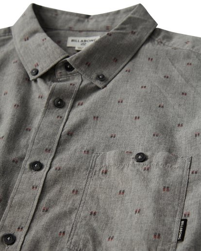 1 All Day - Camiseta sin Mangas Jacquard para Hombre Gris Q1SH02BIF9 Billabong