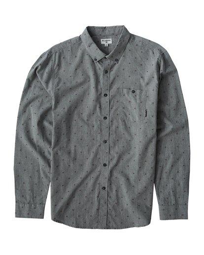 0 All Day - Camiseta sin Mangas Jacquard para Hombre Gris Q1SH02BIF9 Billabong