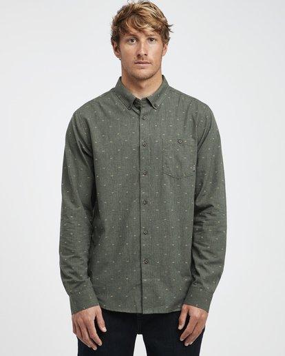 3 All Day - Camiseta sin Mangas Jacquard para Hombre Camo Q1SH02BIF9 Billabong
