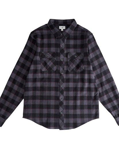 2 All Day - Camisa de Franela de Manga Larga para Hombre Negro Q1SH03BIF9 Billabong