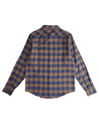 3 All Day - Camisa de Franela de Manga Larga para Hombre Marron Q1SH03BIF9 Billabong