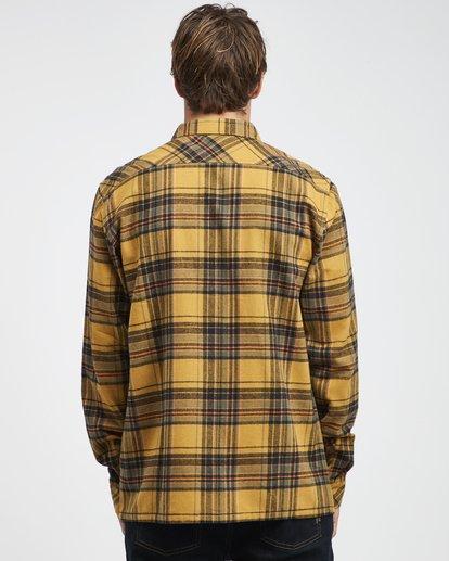 7 Coastline - Camisa de Manga Larga para Hombre Plateado Q1SH04BIF9 Billabong