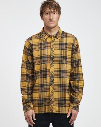 6 Coastline - Camisa de Manga Larga para Hombre Plateado Q1SH04BIF9 Billabong