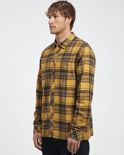 8 Coastline - Camisa de Manga Larga para Hombre Plateado Q1SH04BIF9 Billabong