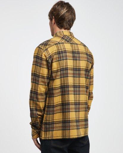 9 Coastline - Camisa de Manga Larga para Hombre Plateado Q1SH04BIF9 Billabong