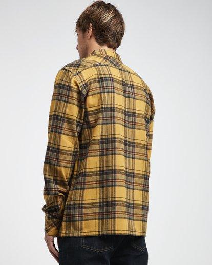 1 Coastline - Camisa de Manga Larga para Hombre Plateado Q1SH04BIF9 Billabong