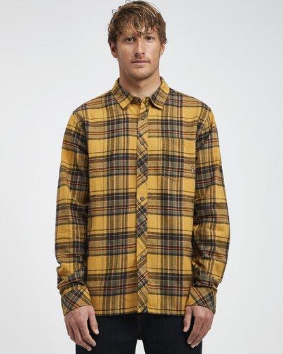 0 Coastline - Camisa de Manga Larga para Hombre Plateado Q1SH04BIF9 Billabong