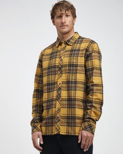 2 Coastline - Langärmeliges Hemd für Männer Silber Q1SH04BIF9 Billabong