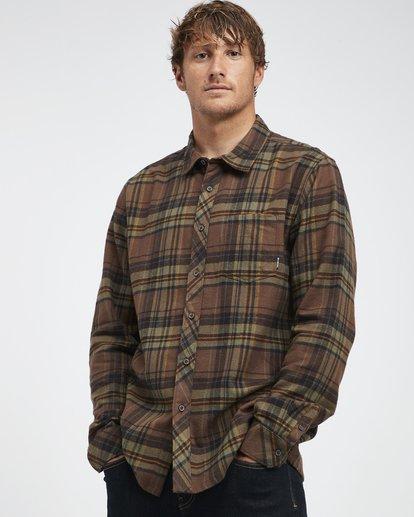 2 Coastline - Langärmeliges Hemd für Männer  Q1SH04BIF9 Billabong
