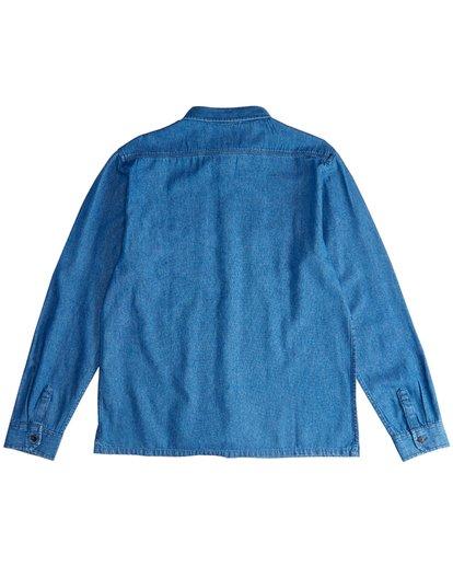 1 97 Workwear - Denim Langärmeliges Hemd für Männer Violett Q1SH08BIF9 Billabong