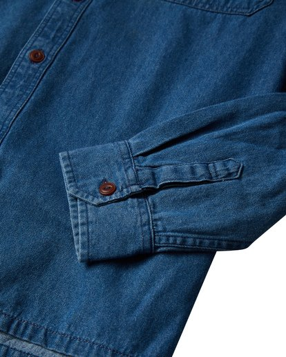 5 97 Workwear - Denim Langärmeliges Hemd für Männer Violett Q1SH08BIF9 Billabong
