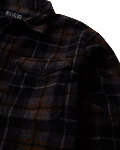 1 Furnace - Flanell Hemd für Männer Schwarz Q1SH10BIF9 Billabong