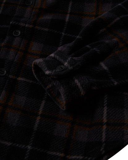 4 Furnace - Flanell Hemd für Männer Schwarz Q1SH10BIF9 Billabong