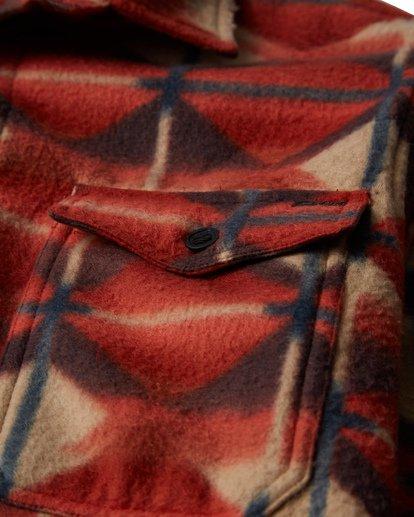 6 Furnace - Camisa de Franela para Hombre  Q1SH10BIF9 Billabong