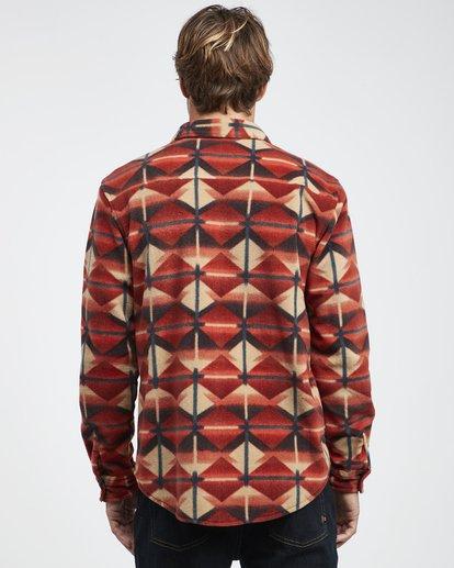 11 Furnace - Camisa de Franela para Hombre  Q1SH10BIF9 Billabong