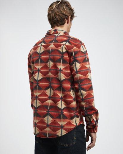 3 Furnace - Flanell Hemd für Männer  Q1SH10BIF9 Billabong