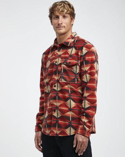4 Furnace - Camisa de Franela para Hombre  Q1SH10BIF9 Billabong