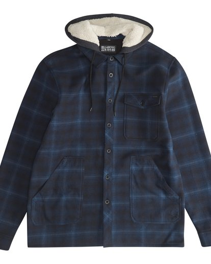 5 Furnace - Hemd in Verbundstoff für Männer Blau Q1SH12BIF9 Billabong