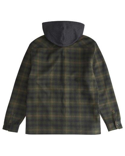 6 Furnace - Camisa Reforzada para Hombre Verde Q1SH12BIF9 Billabong