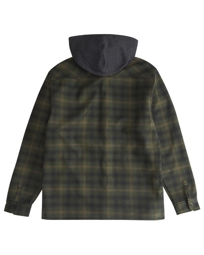 6 Furnace - Hemd in Verbundstoff für Männer Grün Q1SH12BIF9 Billabong