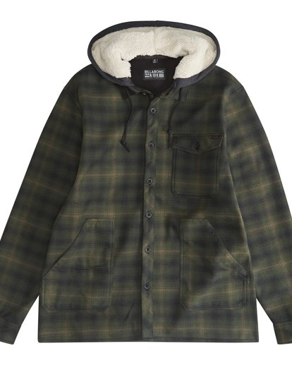 5 Furnace - Hemd in Verbundstoff für Männer Grün Q1SH12BIF9 Billabong