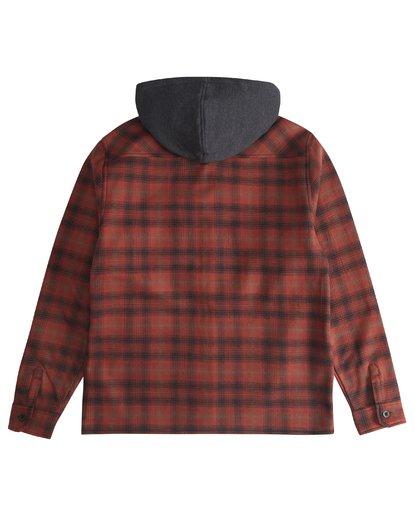 6 Furnace - Camisa Reforzada para Hombre Rojo Q1SH12BIF9 Billabong