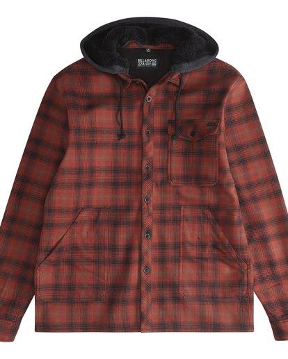 5 Furnace - Camisa Reforzada para Hombre Rojo Q1SH12BIF9 Billabong
