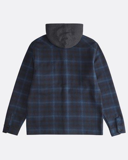1 Furnace - Hemd in Verbundstoff für Männer Blau Q1SH12BIF9 Billabong