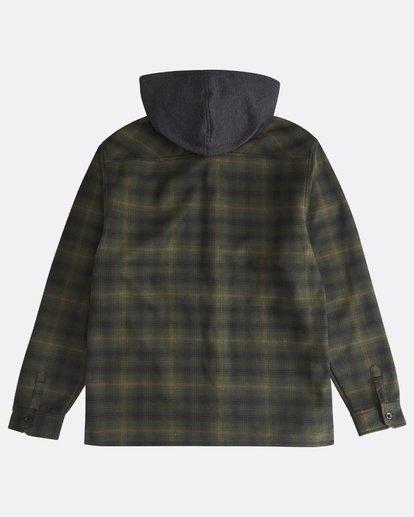1 Furnace - Hemd in Verbundstoff für Männer Grün Q1SH12BIF9 Billabong