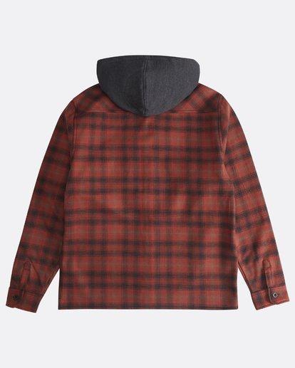 1 Furnace - Camisa Reforzada para Hombre Rojo Q1SH12BIF9 Billabong