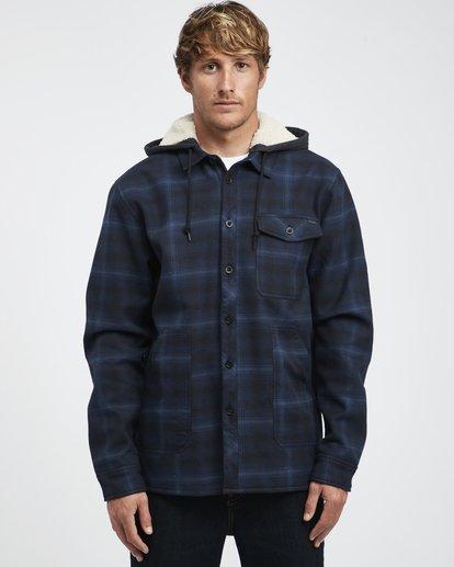 7 Furnace - Hemd in Verbundstoff für Männer Blau Q1SH12BIF9 Billabong