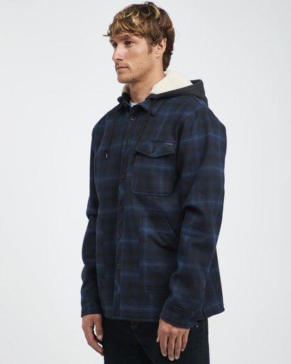 9 Furnace - Hemd in Verbundstoff für Männer Blau Q1SH12BIF9 Billabong