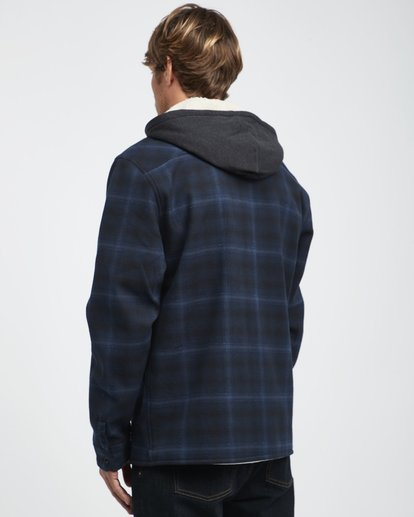 10 Furnace - Hemd in Verbundstoff für Männer Blau Q1SH12BIF9 Billabong
