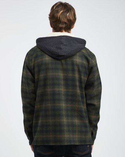 8 Furnace - Camisa Reforzada para Hombre Verde Q1SH12BIF9 Billabong