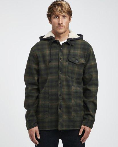 7 Furnace - Camisa Reforzada para Hombre Verde Q1SH12BIF9 Billabong