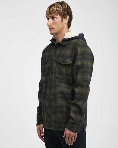 9 Furnace - Camisa Reforzada para Hombre Verde Q1SH12BIF9 Billabong